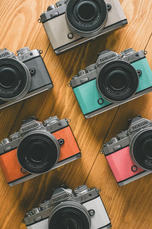 Z fc、NIKKOR Z DX 16-50mm f/3.5-6.3 VR