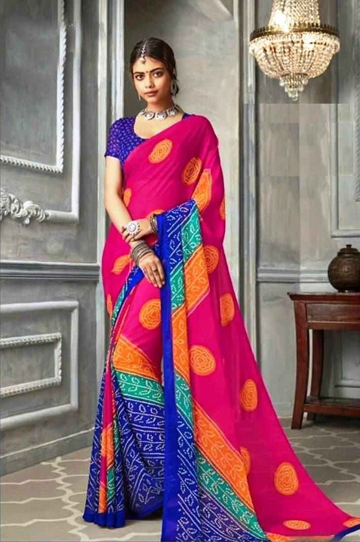 Bandhani Sarees Online Shopping