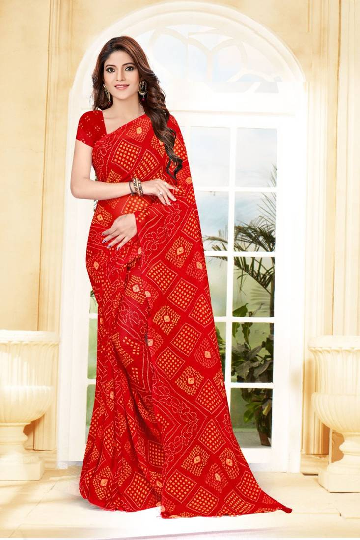 Bandhani Sarees Collection