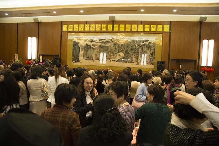中国大使館国際婦人デー記念パーティー/日本道観の道教交流