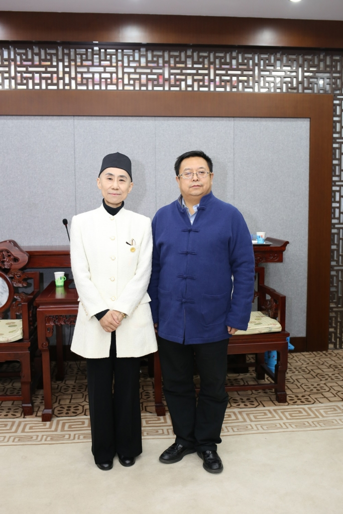 中国道教協会を訪問・王哲一秘書長と会見/日本道観の道教交流