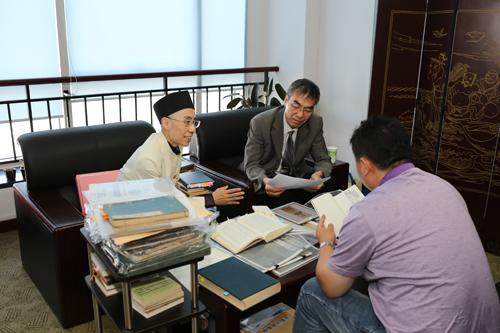 首都師範大学日本文化研究センター長の李均洋教授と共同研究/日本道観の道教交流