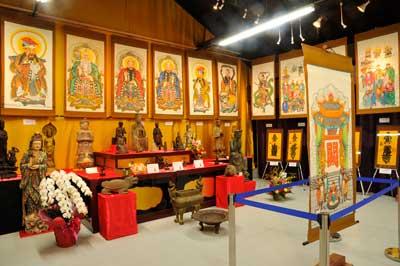 日本道観タオイズム文物展示会開催20121111_5/日本道観の道教交流