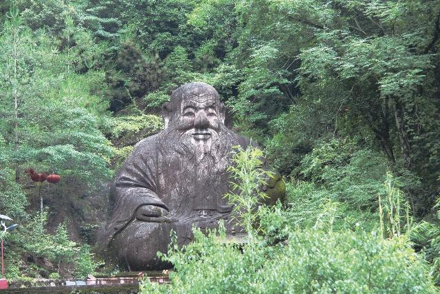 福建省武夷山・世界最大の老子像/日本道観の道教交流