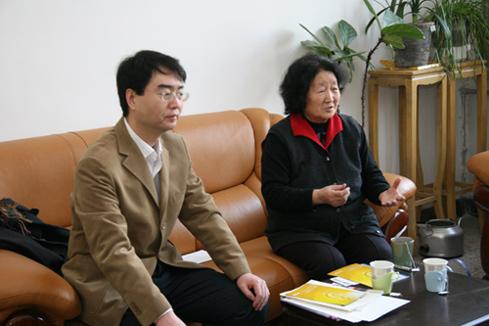 華源常務副秘書長・王雷副秘書長/日本道観の道教交流