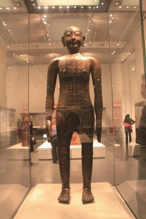 針灸銅人・中国国家博物館/日本道観の道教交流