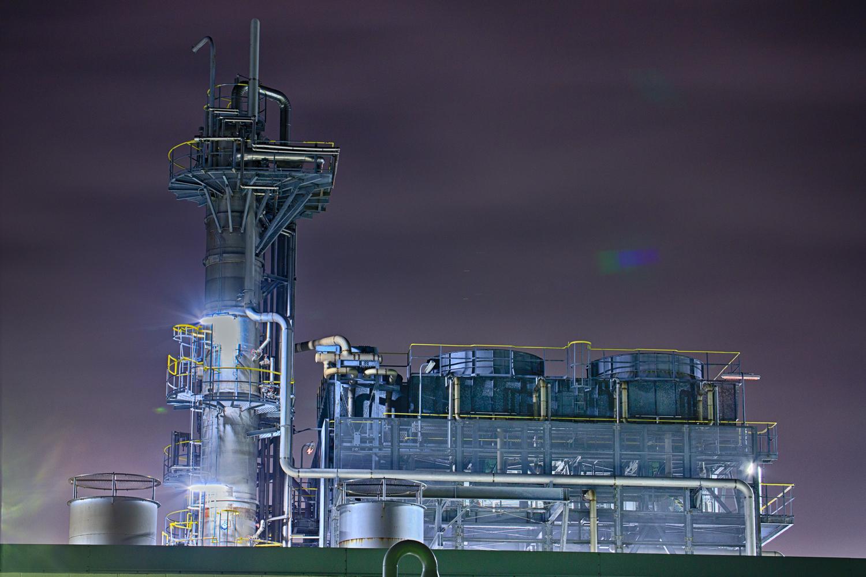 INPEX 工場夜景