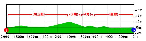 新潟競馬場,芝2000m