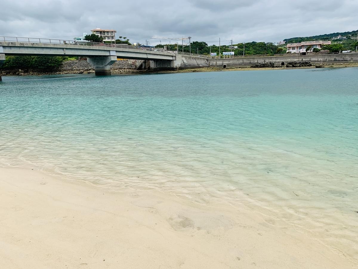 奥武島の海