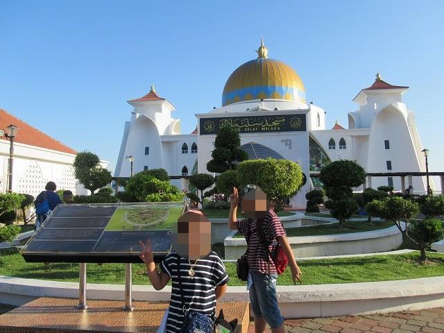 マラッカ 海峡 モスク