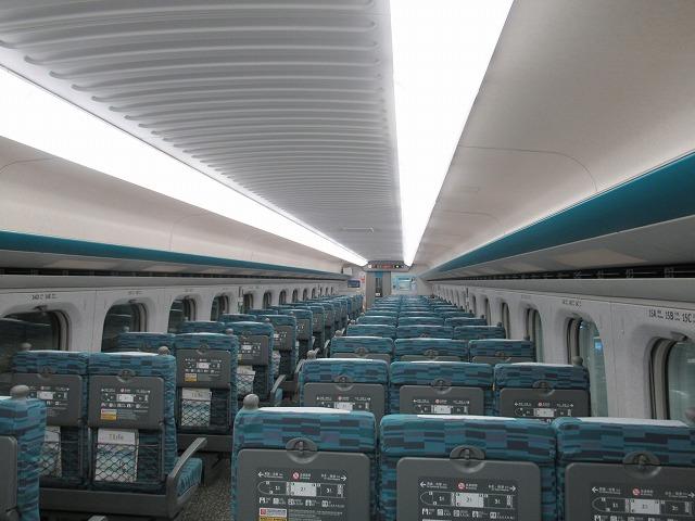 台湾新幹線 台湾高鉄 車内
