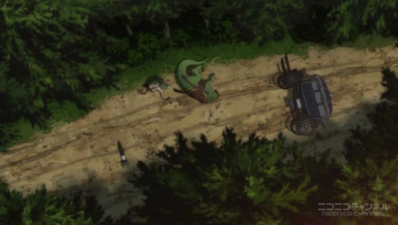 『Re:ゼロから始める異世界生活』15話キャプチャ