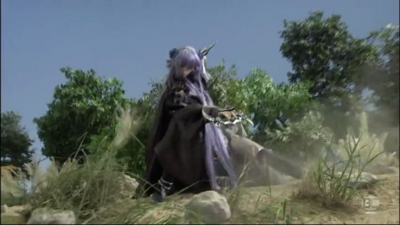 『Thunderbolt Fantasy 東離剣遊紀』2話キャプチャ