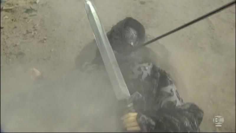 『Thunderbolt Fantasy 東離剣遊紀』3話キャプチャ