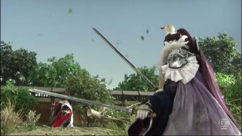 『Thunderbolt Fantasy 東離剣遊紀』4話キャプチャ