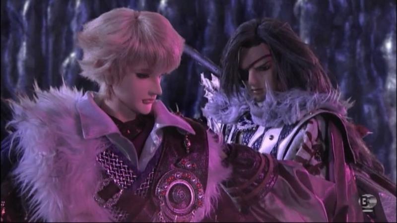 『Thunderbolt Fantasy 東離剣遊紀』9話 捲殘雲(ケンサンウン)と狩雲霄(シュウンショウ)
