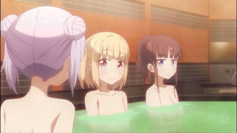 『NEW GAME!』9話 お風呂シーン