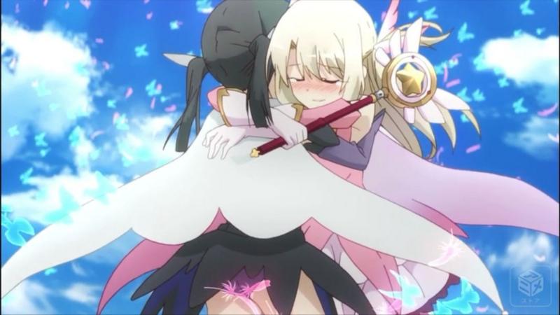 『Fate/kaleid liner プリズマ☆イリヤ ドライ!!』10話 イリヤと美遊