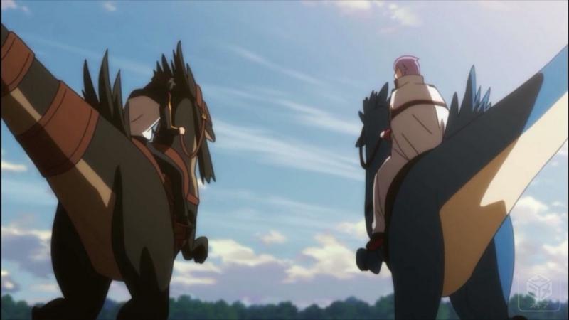 『Re:ゼロから始める異世界生活』22話 スバルとユリウス