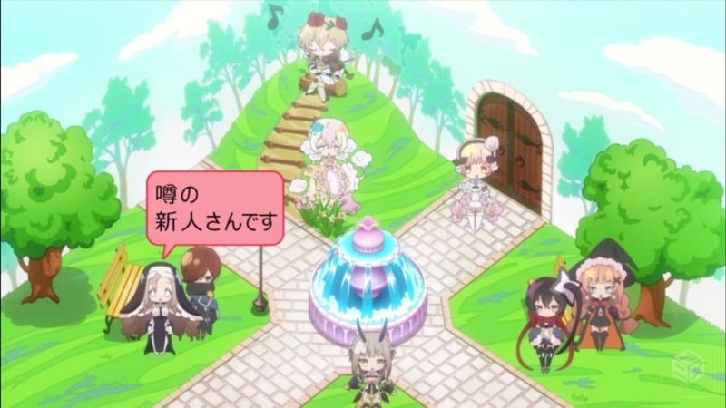 『魔法少女育成計画』1話「夢と魔法の世界へようこそ!」キャプチャ