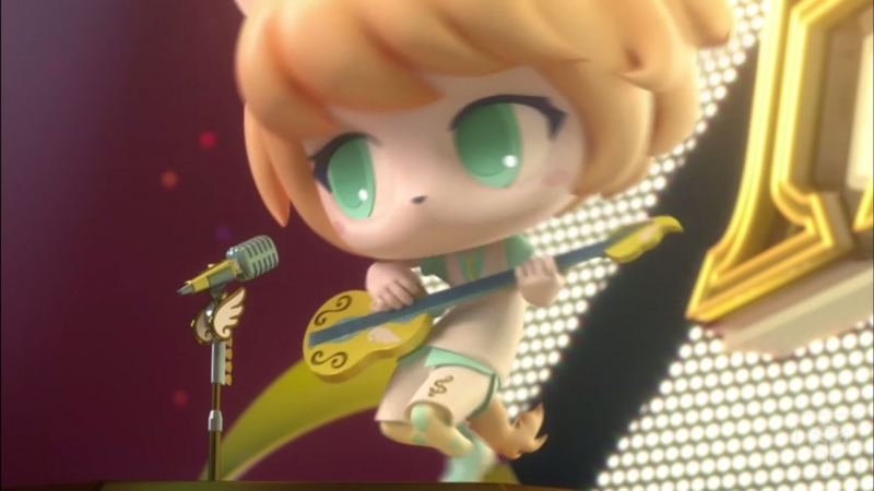 『SHOW BY ROCK!!#』5話「ジャスタウェイク」キャプチャ