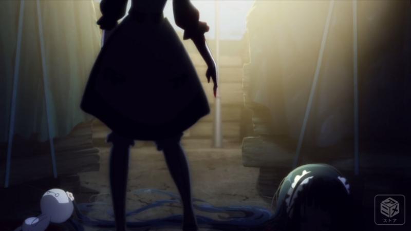 『魔法少女育成計画』6話「激レアアイテムをゲットしよう!」キャプチャ
