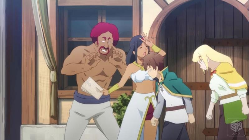 アニメ『この素晴らしい世界に祝福を!2』8話キャプチャ