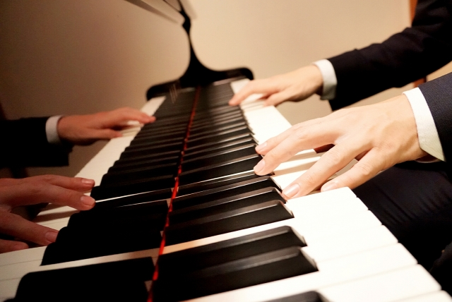 ピアニストの指