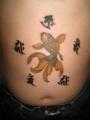 [和彫り][刺青][タトゥー][デザイン][画像][神奈川][茅ヶ崎][金魚][湘南][梵字]