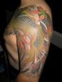 [和彫り][刺青][タトゥー][デザイン][画像][神奈川][茅ヶ崎][鯉][湘南][紅葉]