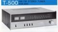 NIKKO T-500 AM/FMステレオチューナー  株式会社日幸電機製作所