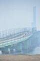 連絡橋とゲートタワービル