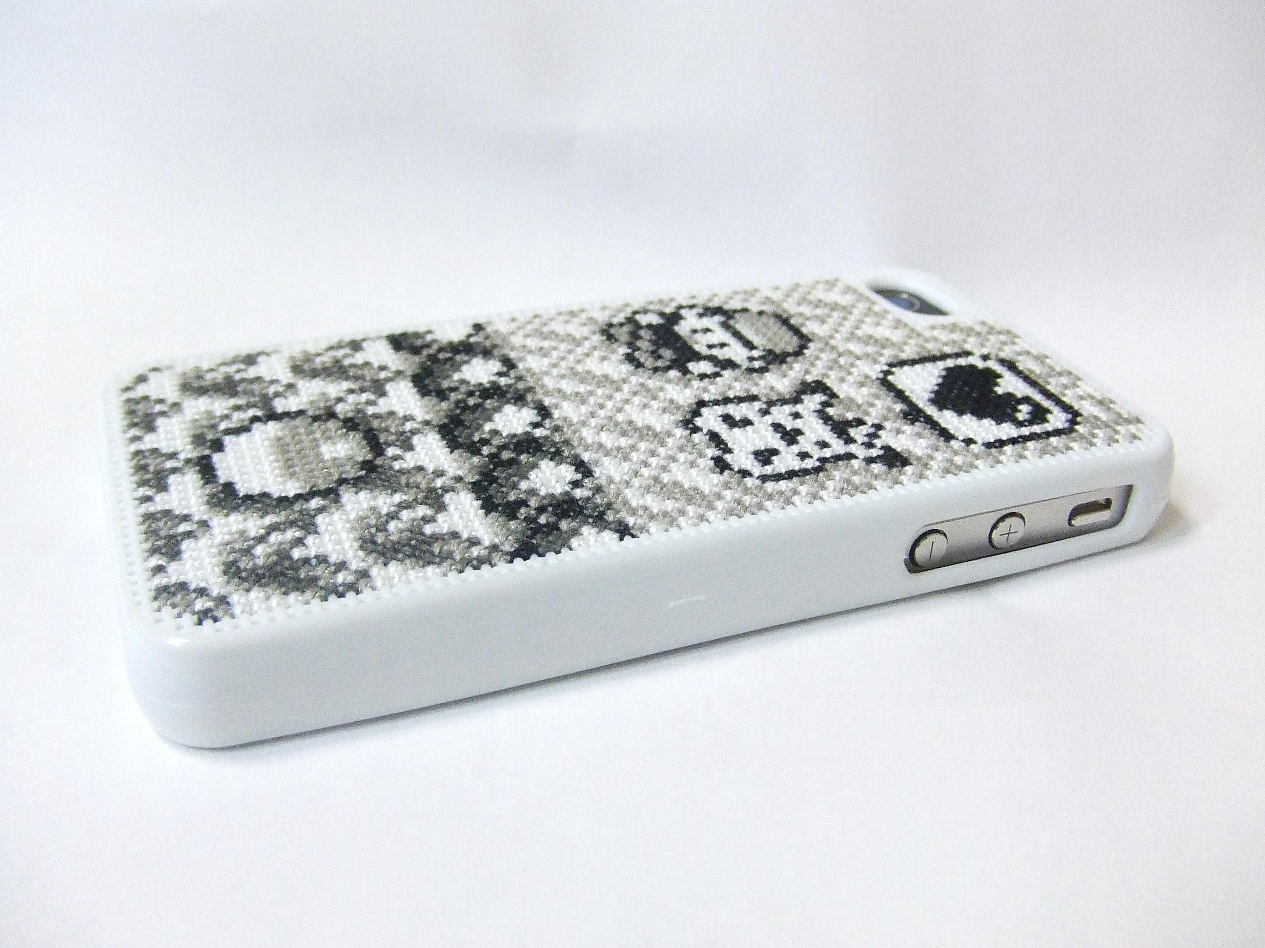 ポケモンクロスステッチオリジナルiPhoneケース