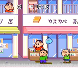 クレヨンしんちゃん嵐を呼ぶ園児_ゲーム画面2