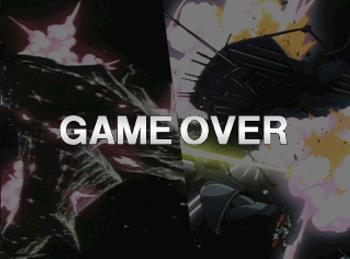 機動戦士ガンダム THE 軍人将棋 ゲームオーバー