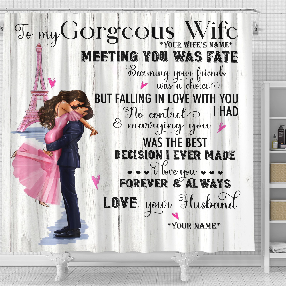 Wife Shower Curtain 90 LoveHome