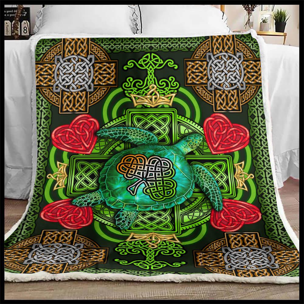 St Patrick's Day Blanket 90 LoveHome