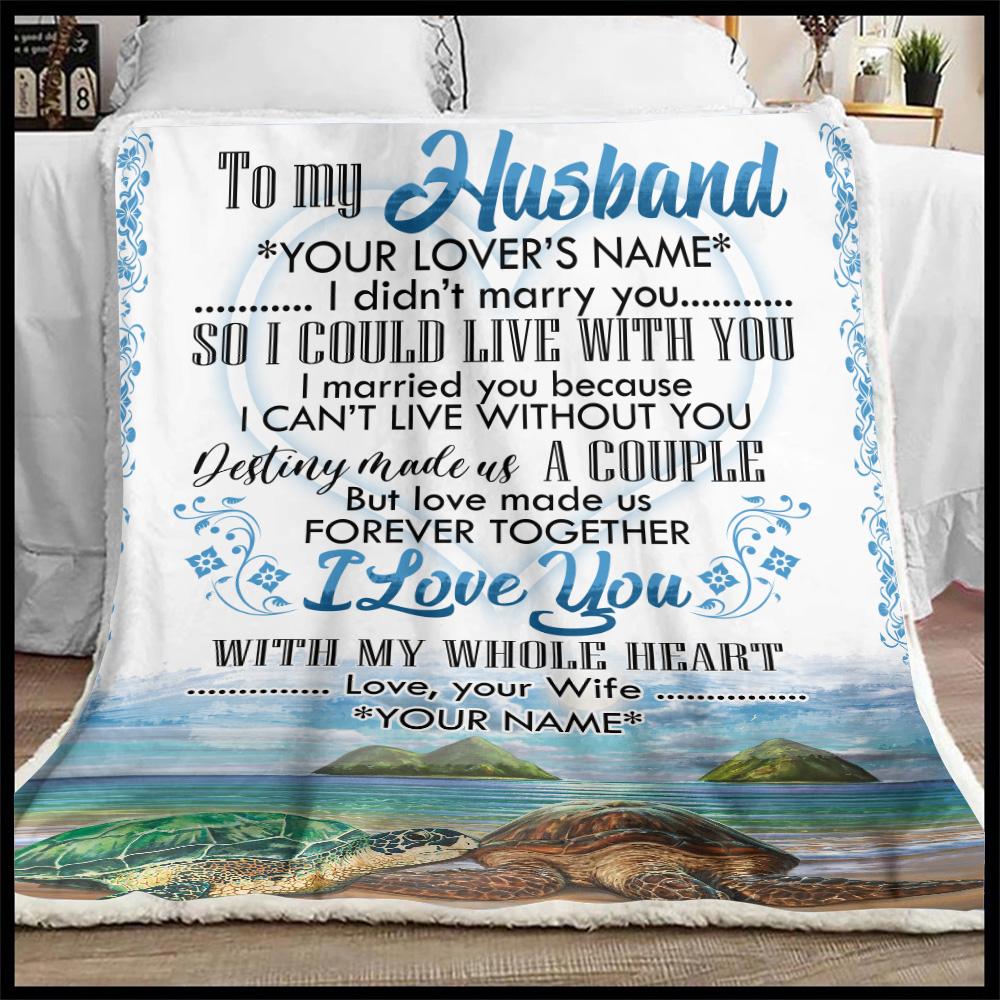 Husband Blanket 90 LoveHome