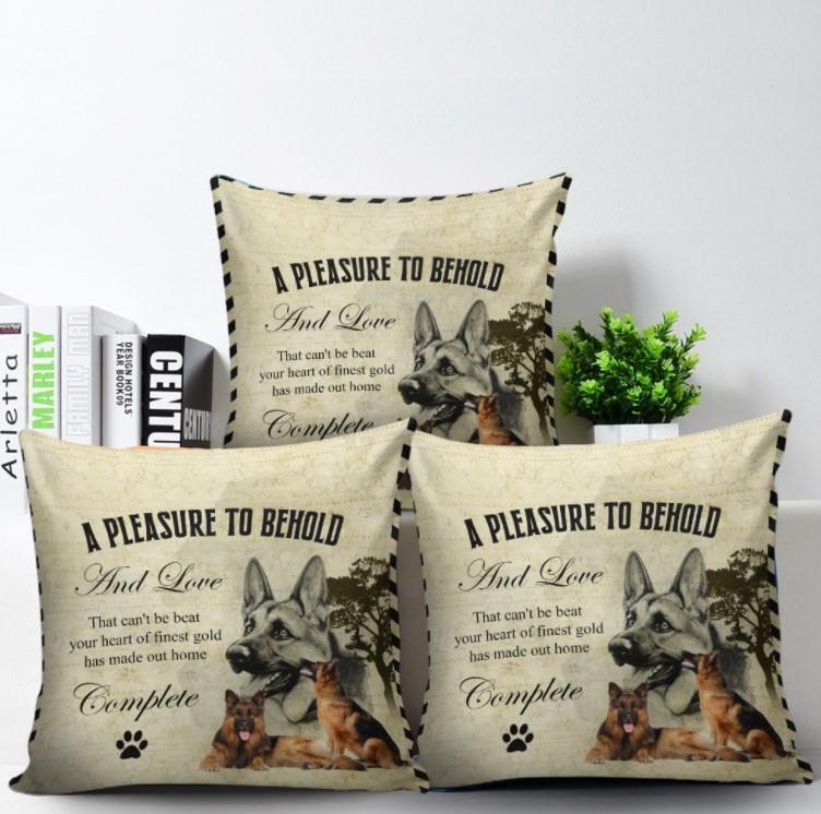 German Shepherd Pillow at 90 LoveHome