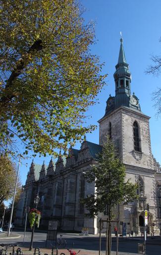 ドイツの町wolfenbüttelのマリエンヌ教会
