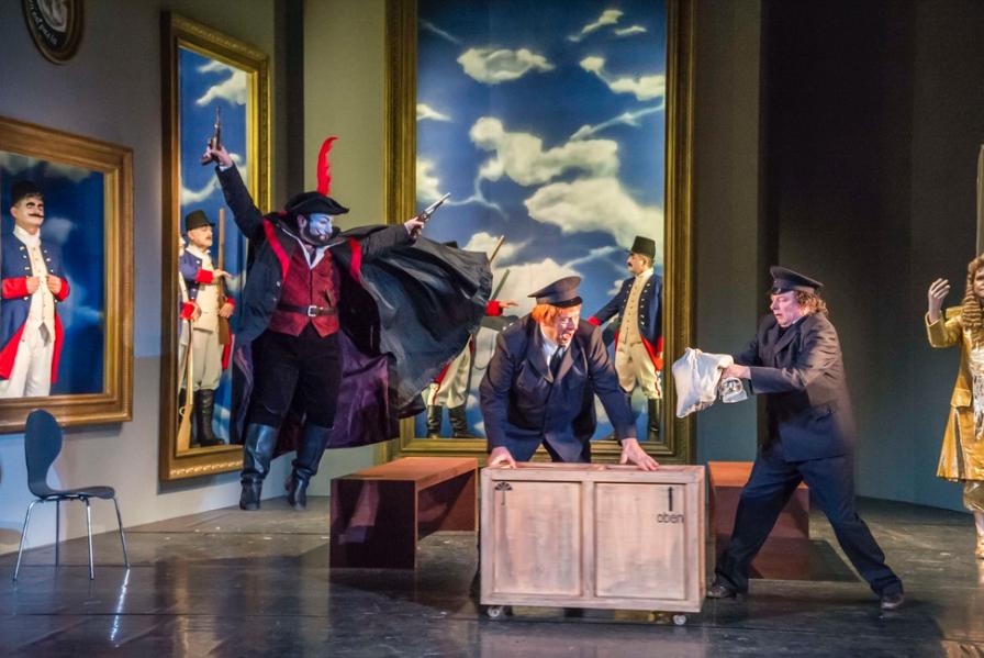 フラ・ディアヴォロ オペラ公演1幕、ハルバーシュタッド