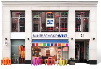 ベルリンのリッタースポーツチョコレートショップ兼カフェ