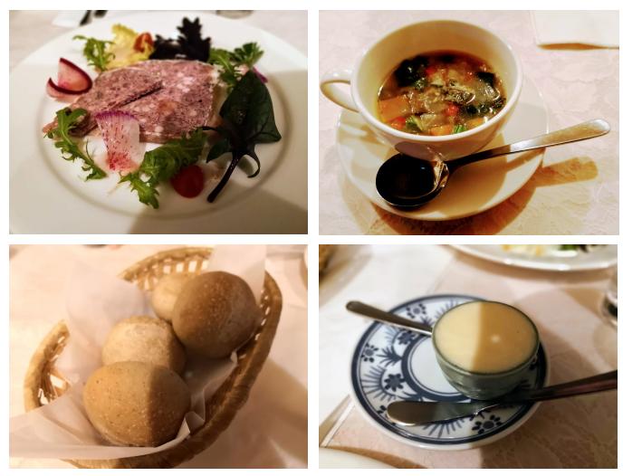 軽井沢 パナッシュの料理