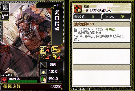 武田信繁ixa