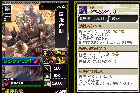 猿飛佐助-2208 :戦国ixa