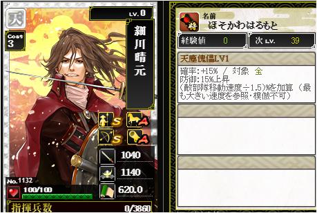 細川晴元-1132:戦国ixa