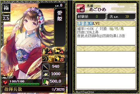 愛姫-2257:戦国ixa