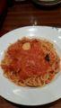 カプリチョーザ トマトとニンニクのスパゲッティ
