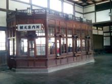 旧出雲大社駅の中
