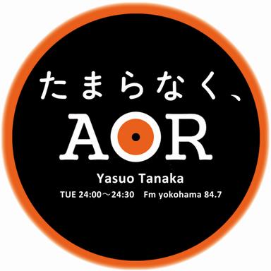 田中康夫 presents Fm yokohama 「たまらなく、AOR」ロゴ